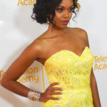 Mishael Morgan Mingle Media TV and Red Carpet Report host Ashley Harrington were invited to cover the 2014 Daytime Emmy® Awards Nominees Cocktail Reception Hosted by the Television Academy's Daytime Programming Peer Group Governors at the London West Hotel in Hollywood. Photo courtesy Mingle MediaTV
