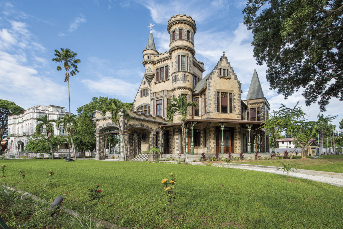 Stollmeyer's Castle was built in 1904. Photo by Rapso Imaging
